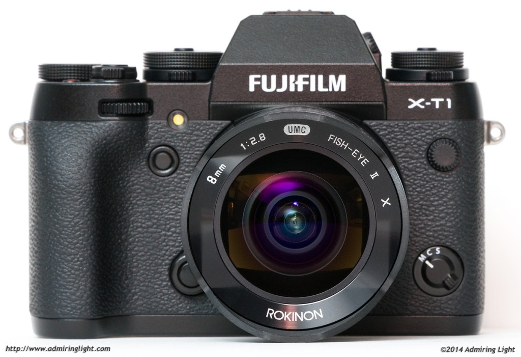 The Rokinon 8mm f/2.8 Fisheye II on the Fujifilm X-T1
