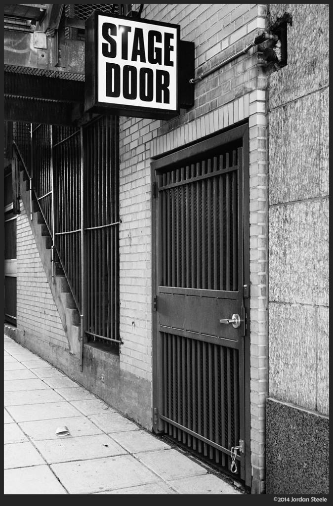 Stage Door - Sony NEX-6 with Sigma 30mm f/2.8 @ f/4