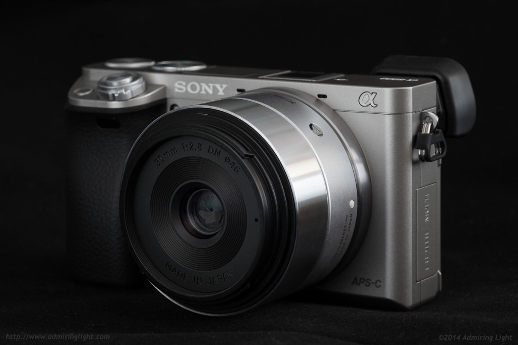 The Sigma 30mm f/2.8 DN Art on the Sony A6000