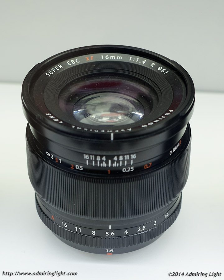 The new 16mm f/1.4