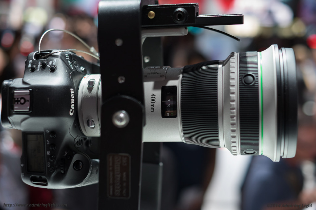 Canon's new 400mm f/4 DO IS II USM