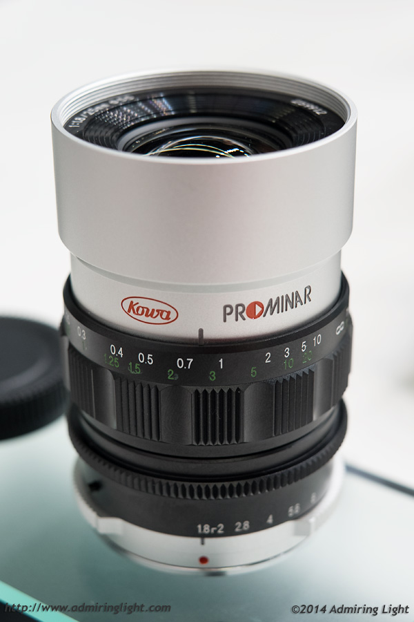 The Kowa 25mm f/1.8