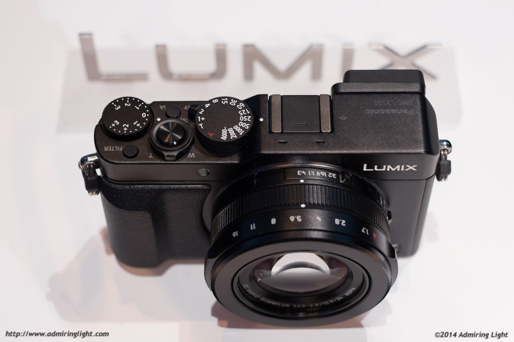 The high end 4/3 compact, the LX100