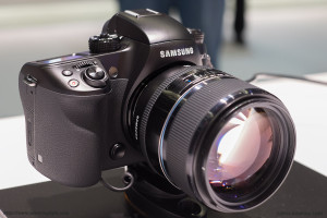 The new Samsung NX1 (with their 85mm f/1.4)