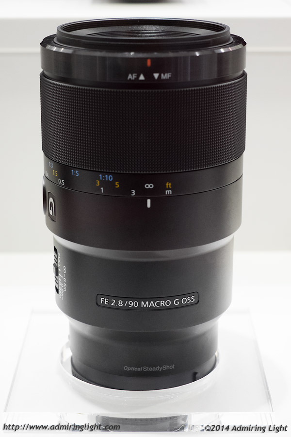 Sony FE 90mm f/2.8 Macro OSS