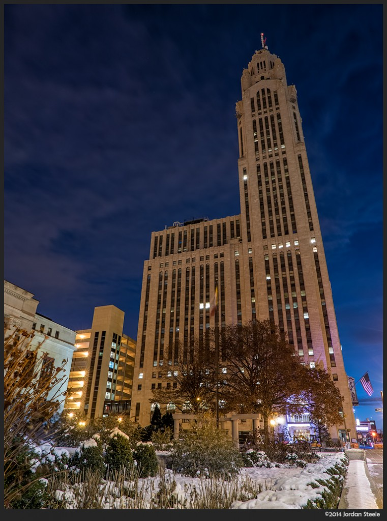 Leveque Tower, Columbus, OH - Panasonic LX100 @