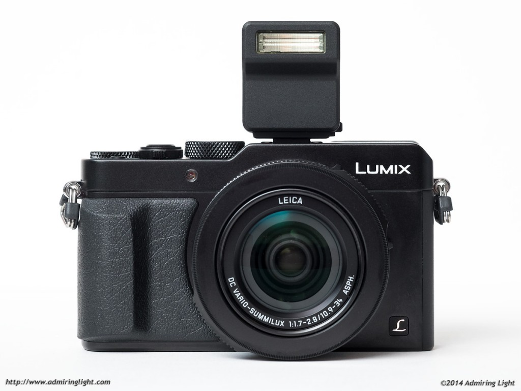 The LX100's Clip-On Flash