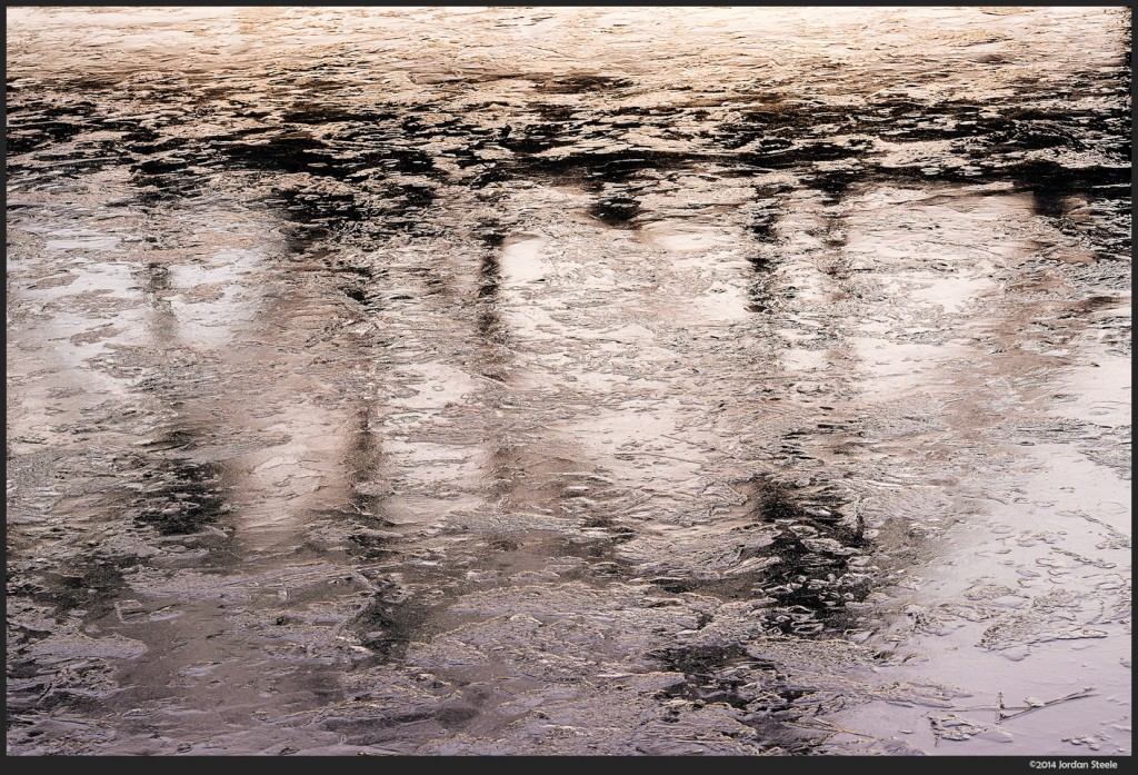 Ice Reflections - Fujifilm X-T1 with Fujinon XF 50-140mm f/2.8 R OIS WR @