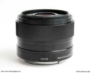 The Sony 35mm f/1.8 OSS