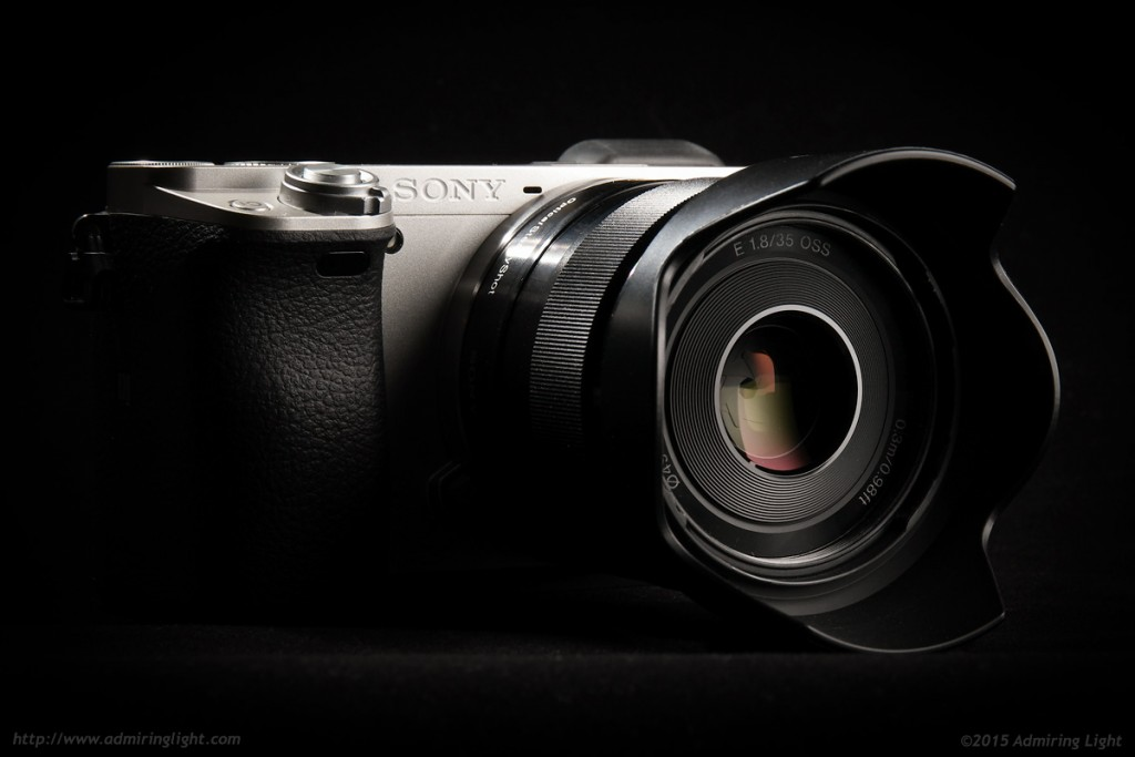 The Sony 35mm f/1.8 OSS on the Sony a6000