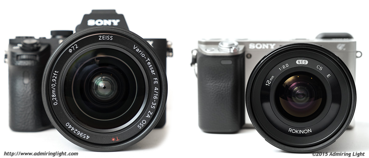 Sony A7 II vs  Sony A6000 - Landscape Use - Admiring Light