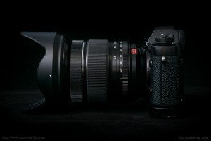 The 16-55mm f/2.8 is a large lens for an APS-C standard zoom for mirrorless cameras