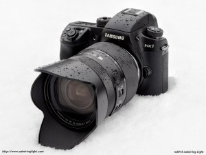 The Samsung NX1 with Samsung 16-50mm f/2-2.8