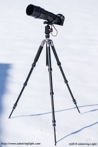 MeFoto RoadTrip with PhotoClam PC-36 ballhead