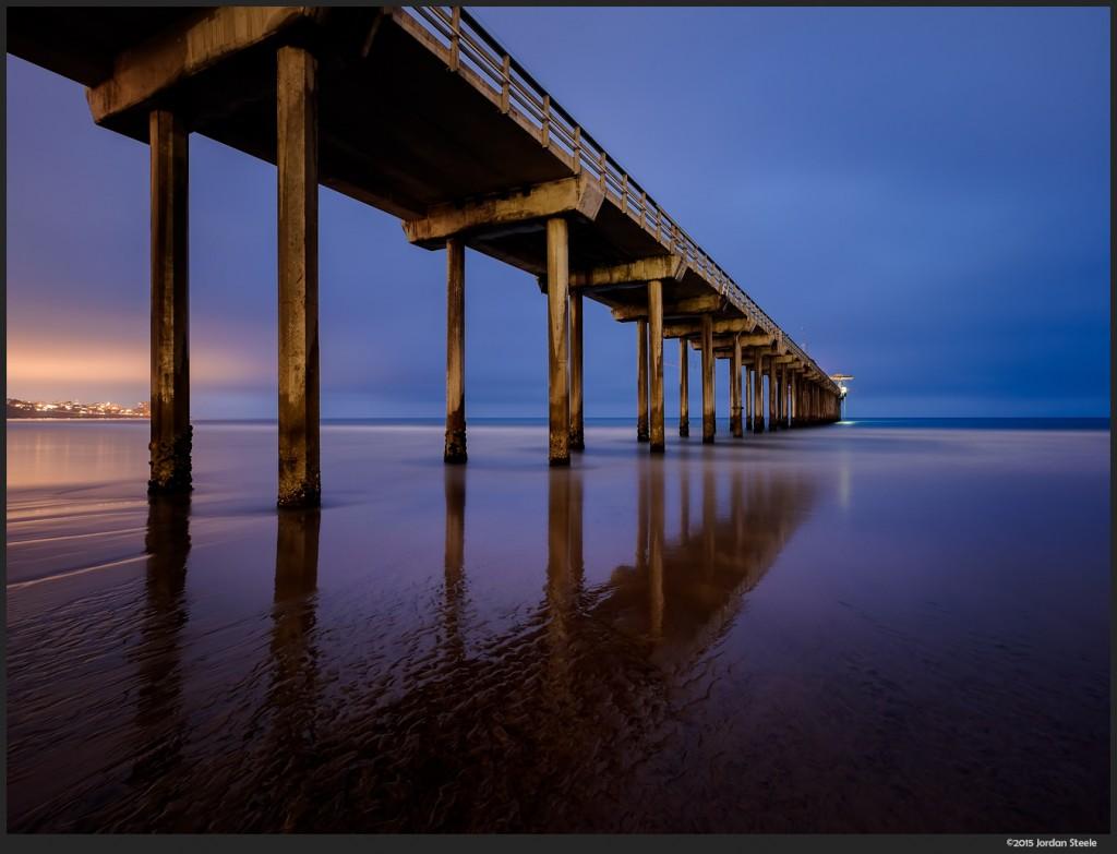 Scripps Pier, La Jolla, CA - Fujifilm X-T1 with Fujinon XF 10-24mm f/4 @ 10mm, f/8, 2m 40s, ISO 200