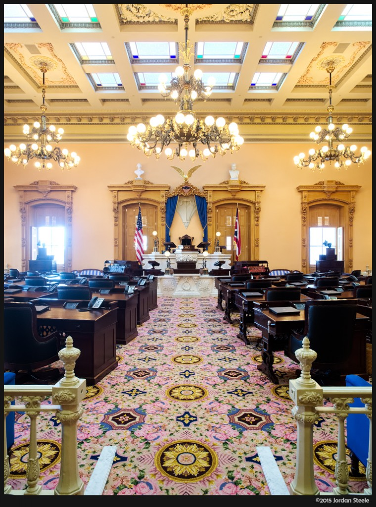 Ohio Senate - Olympus OM-D E-M5 Mark II with Olympus 12-40mm f/2.8 PRO @ 12mm, f/5.6, 1/10s, ISO 800