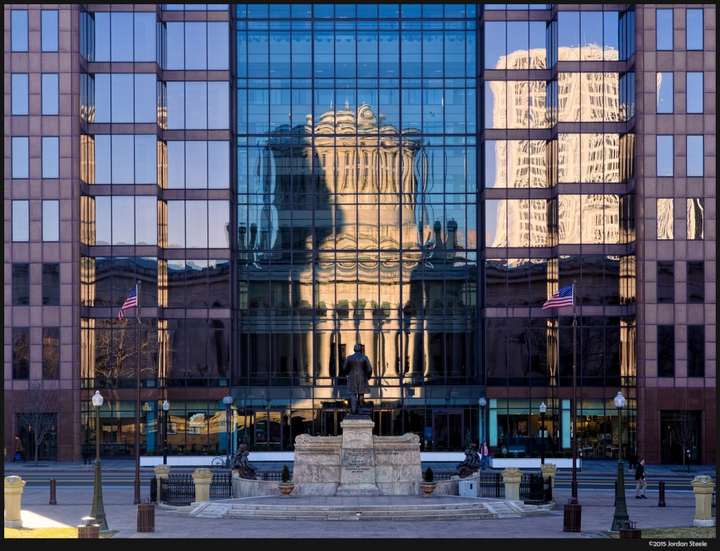 Statehouse Reflected - Olympus OM-D E-M5 Mark II with Olympus 12-40mm f/2.8 PRO @ 40mm, f/6.3, 1/100s, ISO 200