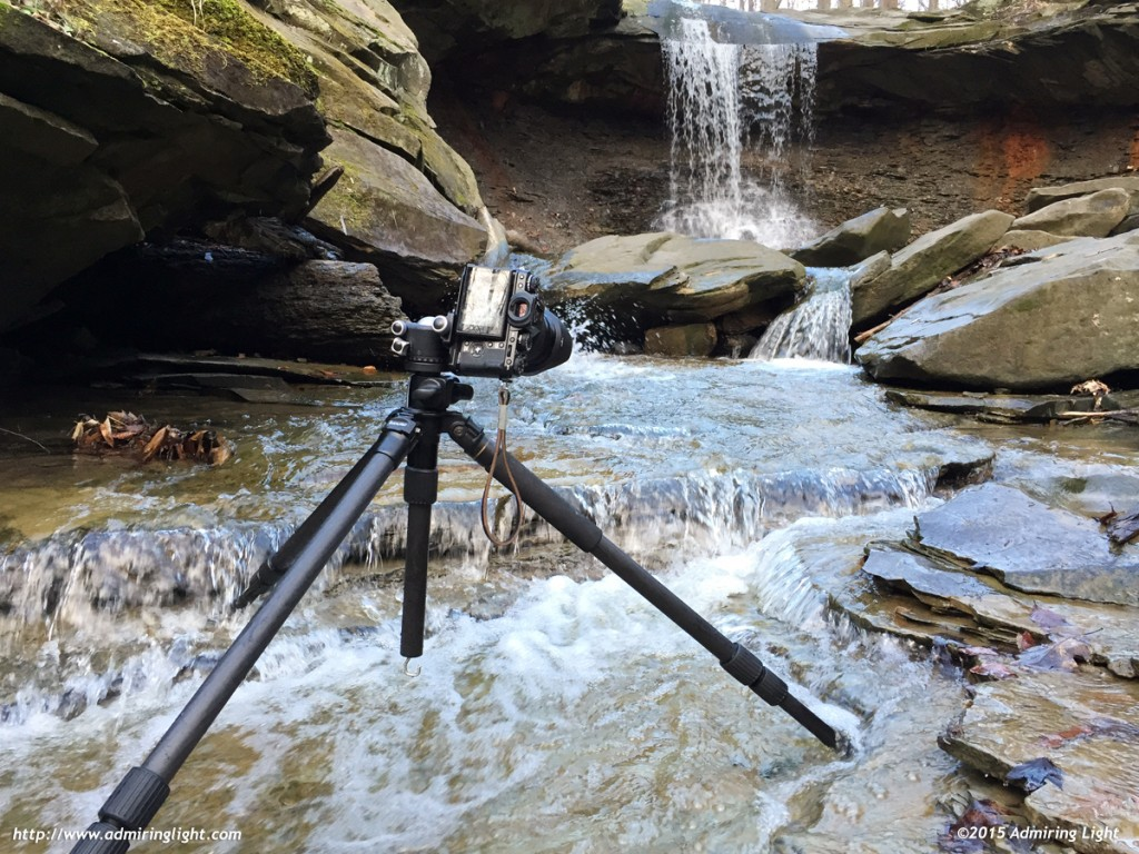 A solid tripod can get you the angle and stability needed to get the shot