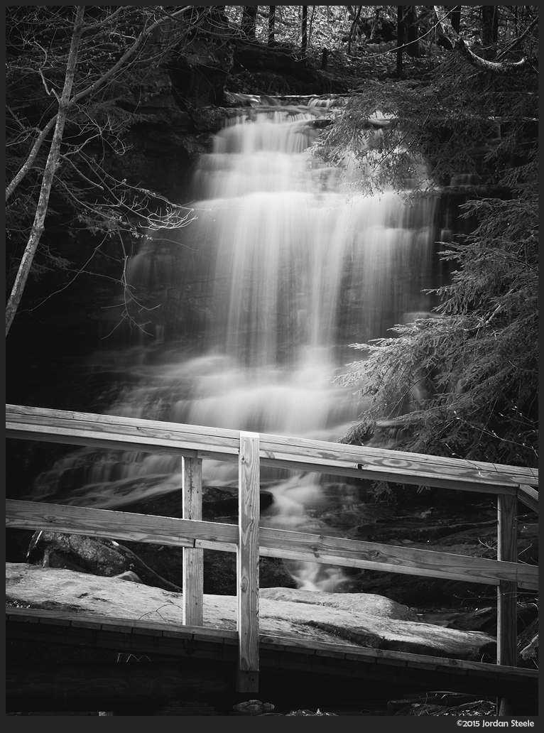 Honey Run Falls - Fujifilm X-T1 with Fujinon XF 55-200mm @ 200mm, f/16, 2.1s