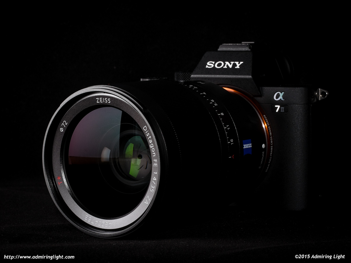 Zeiss FE 35mm f/1.4 Distagon on the Sony A7 II