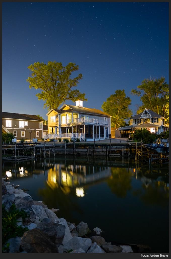 Buckeye Lake Night - Fujifilm X-T1 with Fujinon XF 16mm f/1.4 @ f/1.4
