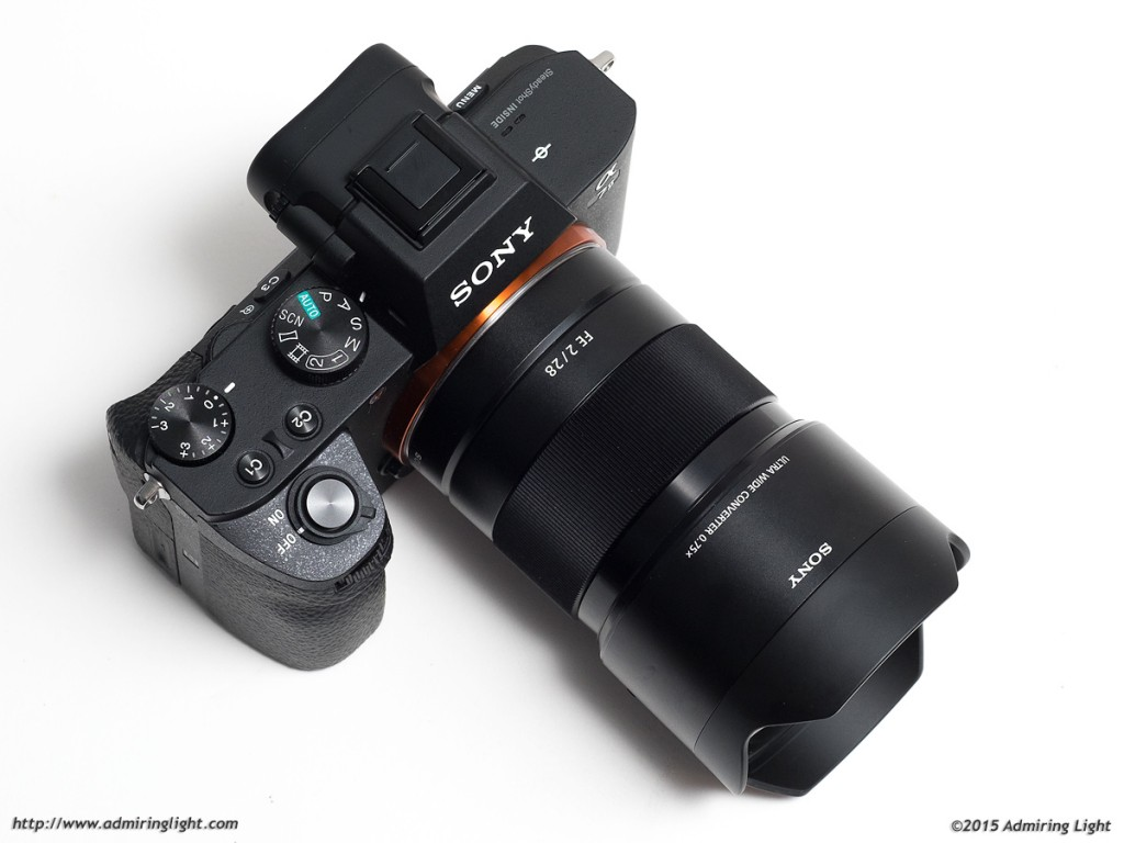Sony FE 21mm f/2.8 combination