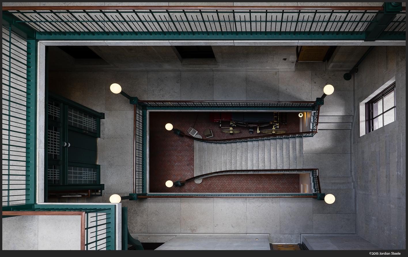 Stairs - Fujifilm X-T1 with Fujinon XF 16mm f/1.4 WR @ f/4