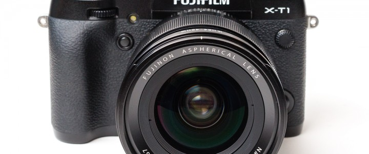 The Fujinon XF 16mm f/1.4 R WR on the Fujifilm X-T1