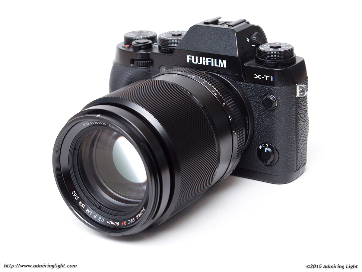 The XF 90mm f/2 on the Fuji X-T1