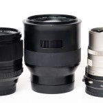 Fuji XF 56mm f/1.8, Zeiss Batis 85mm f/1.8 Sonnar, Zeiss Contax G 90mm f/2.8 Sonnar