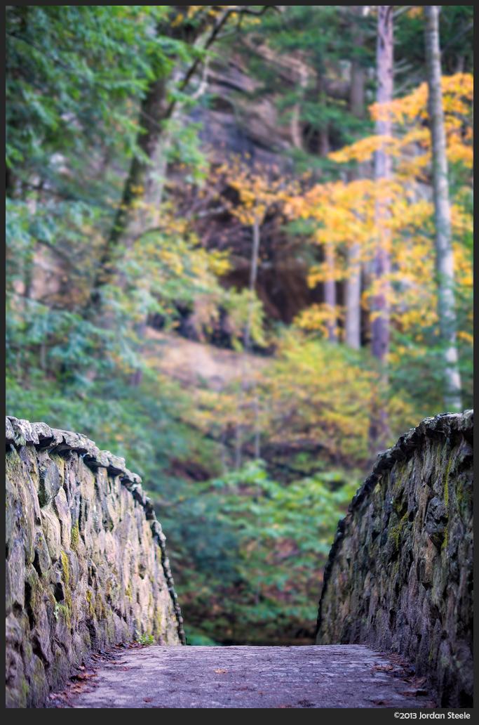 Autumn Bridge - Fujifilm X-E1 with Fujinon XF 35mm f/1.4 @ f/1.4