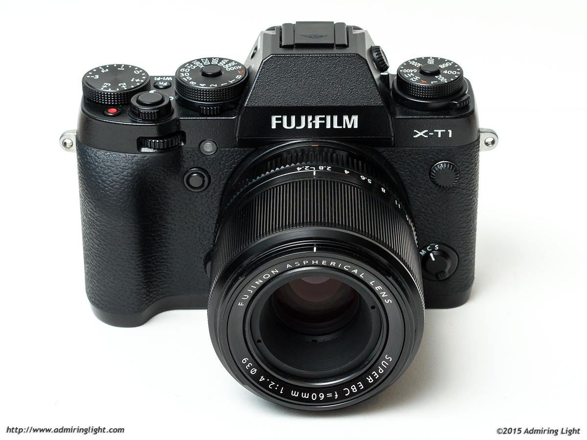 The Fujinon XF 60mm f/2.4 Macro R on the Fujifilm X-T1