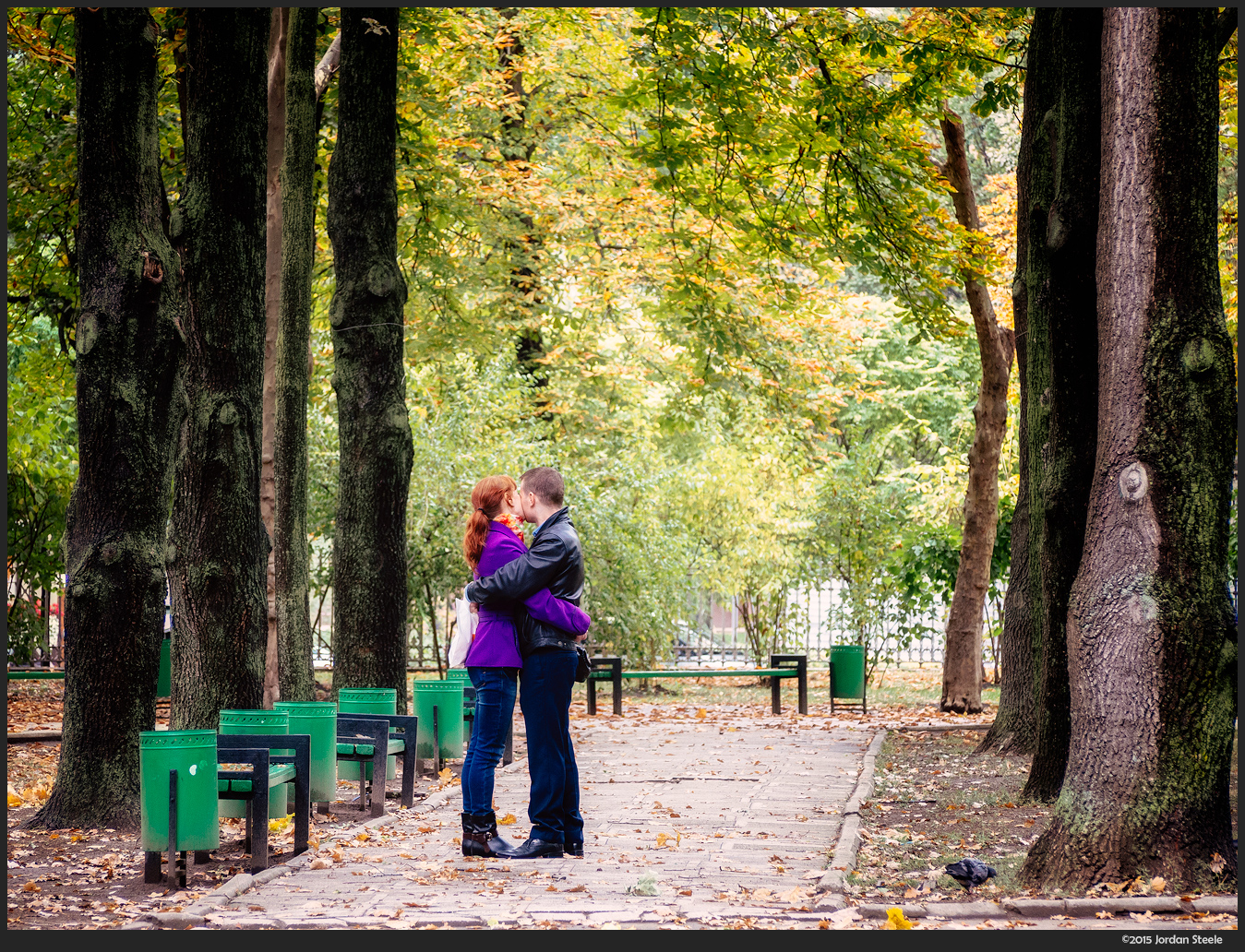 Autumn Love, Chisinau, Moldova - Olympus OM-D E-M5 with 40-150mm @