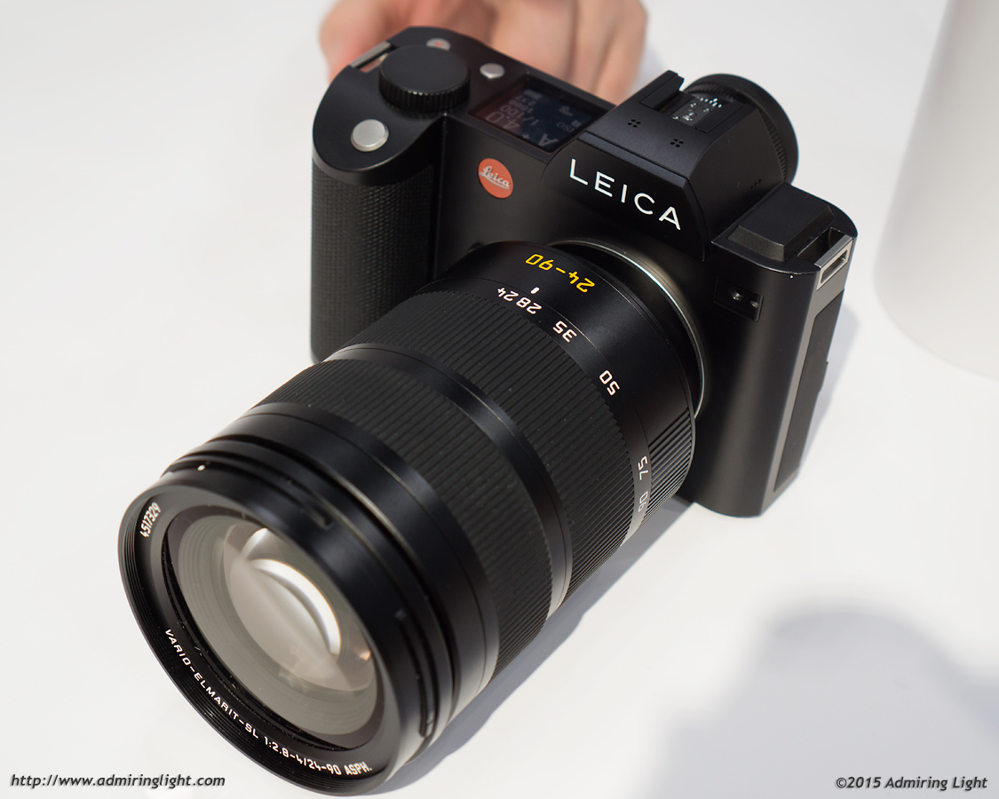 Leica SL with 24-90mm f/4