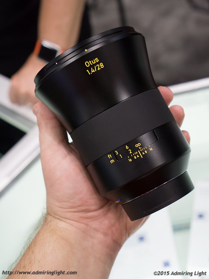 The Zeiss Otus 28mm f/1.4