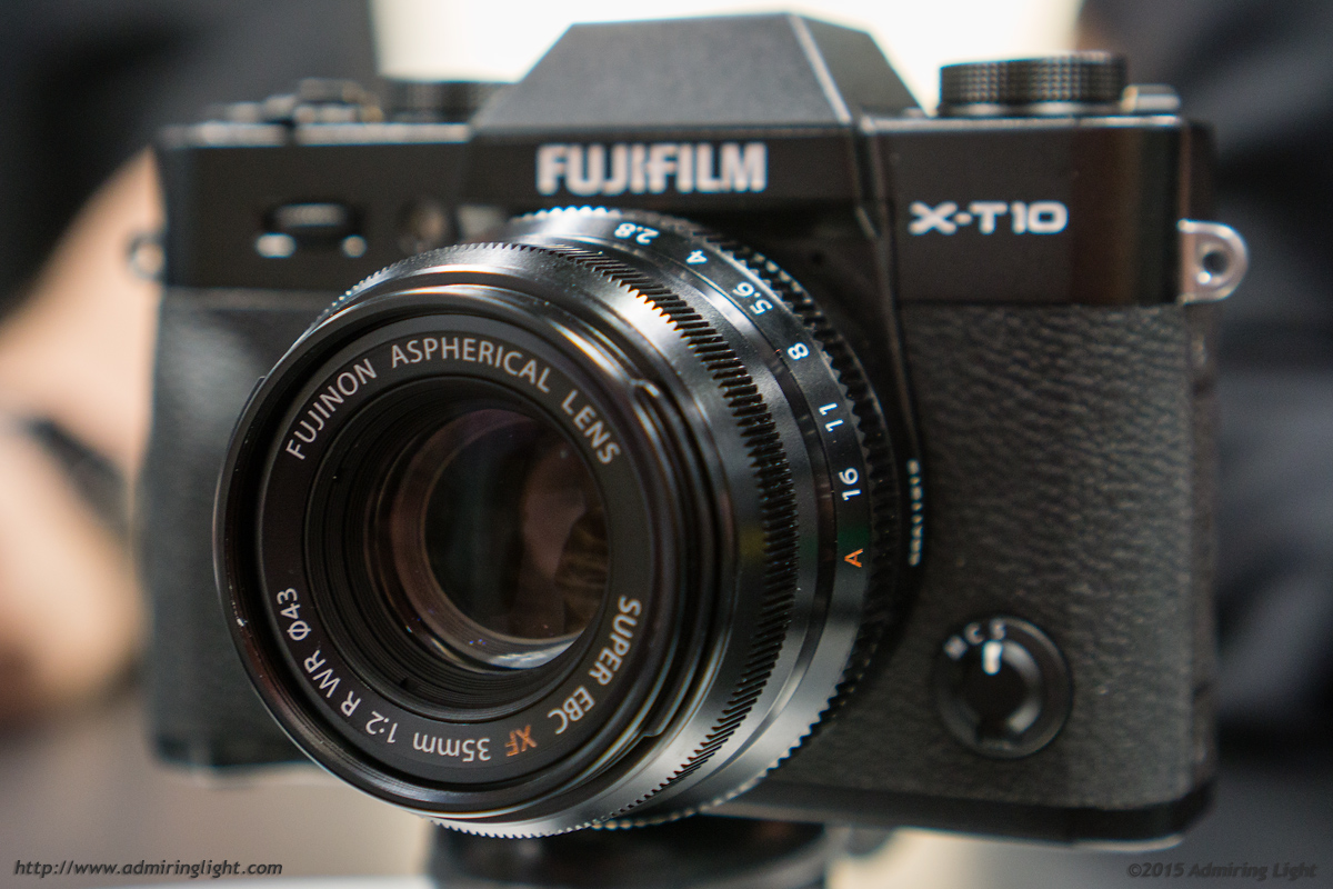 XF 35mm f/2 WR on the Fuji X-T10