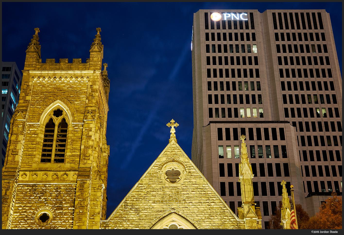 Trinity Church - Fujifilm X-T1 with Fujinon XF 35mm f/2 R WR @ f/8