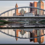 Columbus Reflected - Fujifilm X-E2 with Fujinon XF 35mm f/2 R WR @ f/11