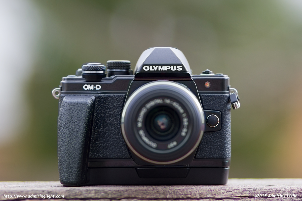 The ECG-3 Grip gives the E-M10 II some extra depth for better handling