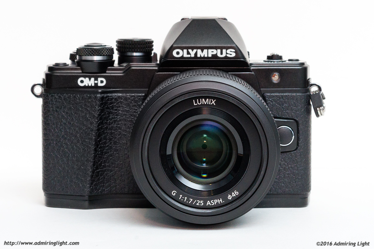 Panasonic Lumix G 25mm f/1.7 on the Olympus OM-D E-M10 Mark II
