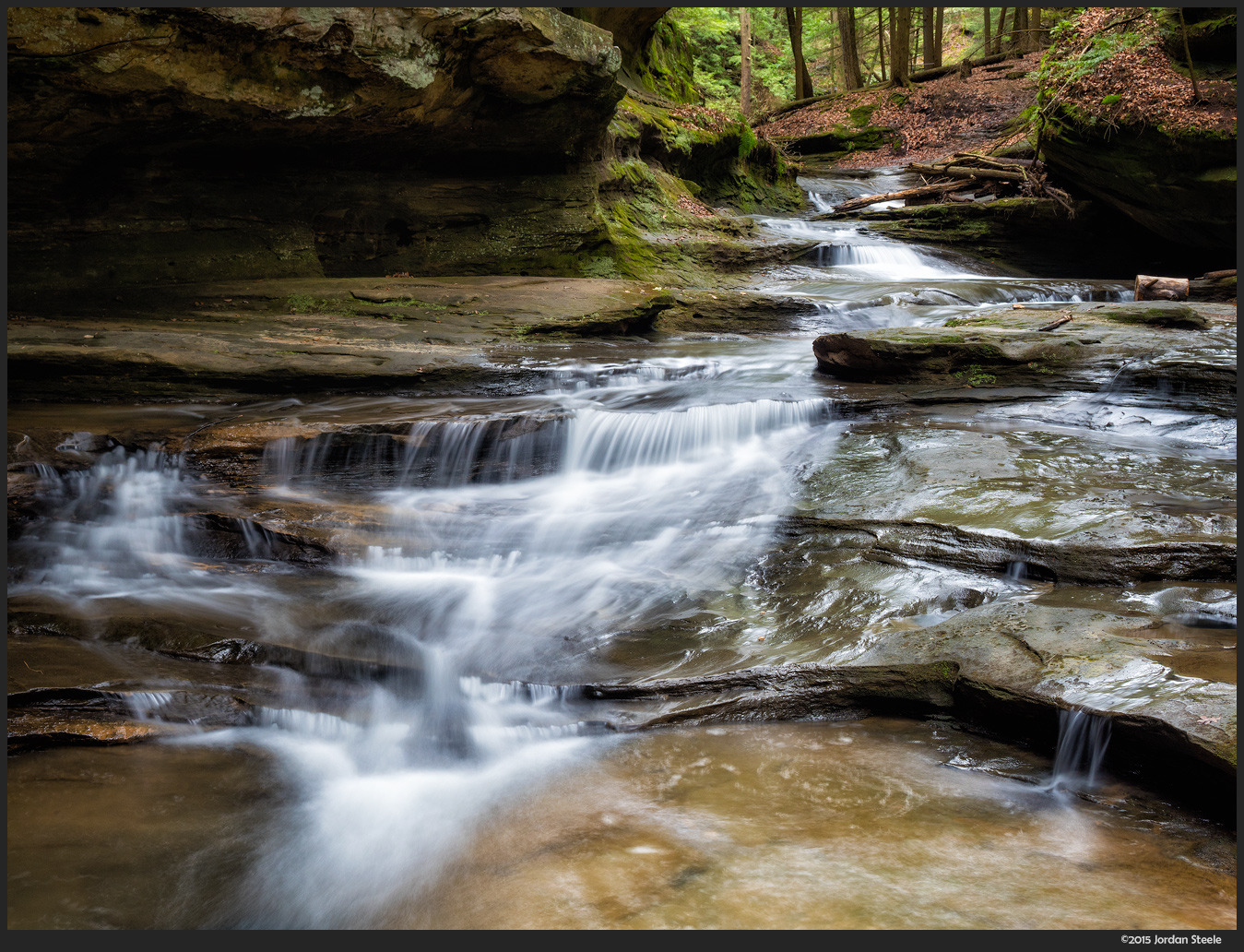 Middle Falls, Hocking Hills, OH - Panasonic GX8 with