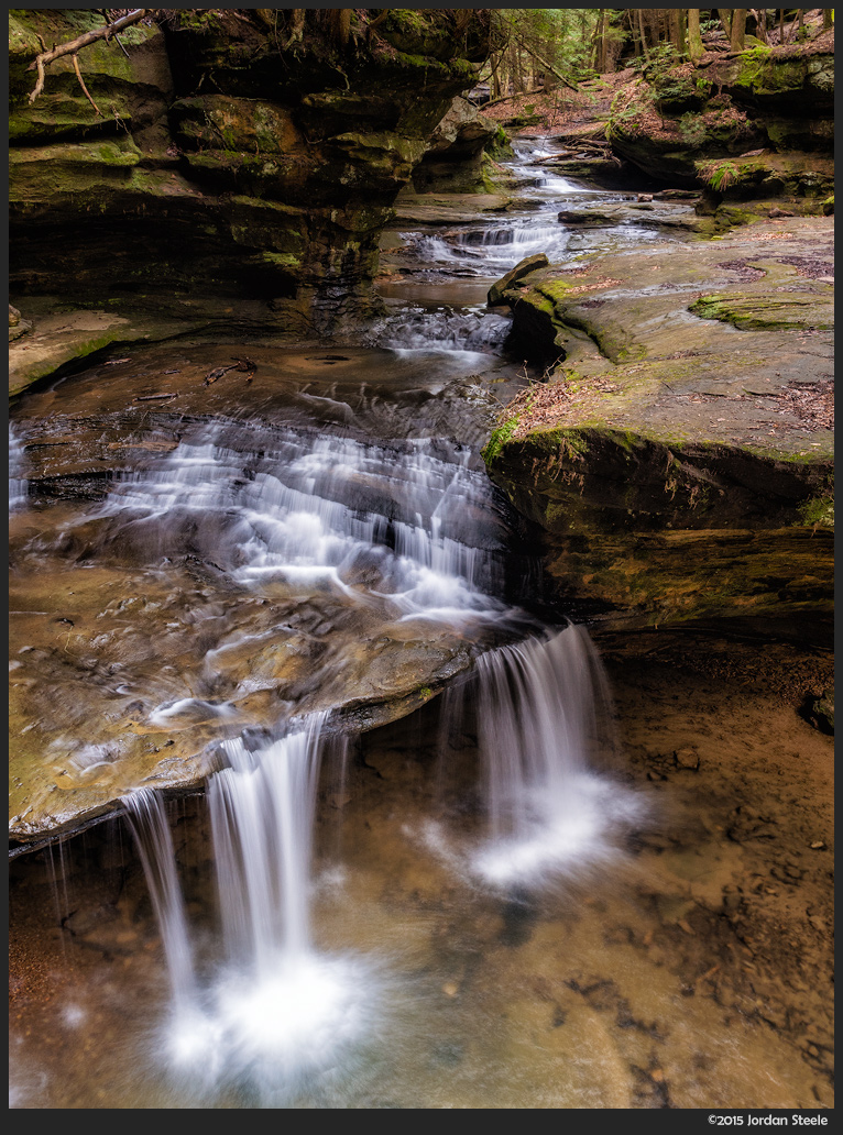 Middle Falls, Hocking Hills, OH - Panasonic GX8 with Olympus 14-42mm f/3.5-5.6 @