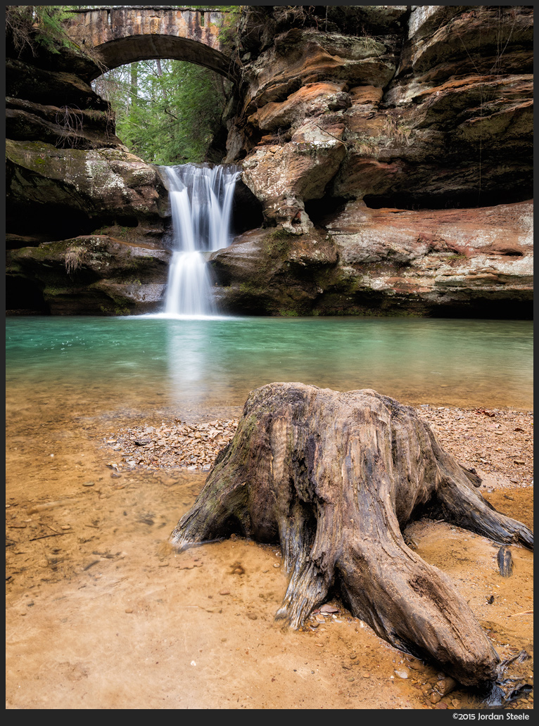 Upper Falls, Hocking Hills, OH - Panasonic GX8 with Panasonic 14mm f/2.5 @