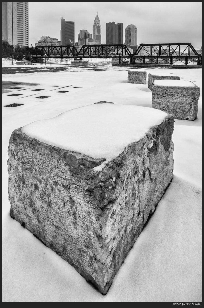 Snowy Blocks - Sony A7 II with Zeiss Loxia 21mm f/2.8 Distagon @ f/11