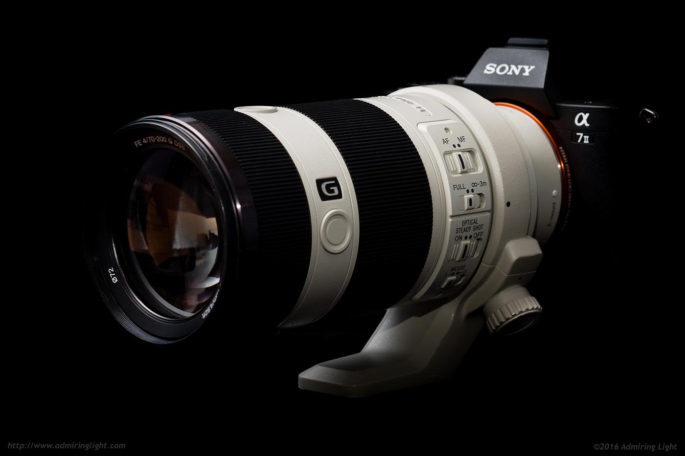 Sony FE 70-200mm f/4 G OSS on the Sony A7 II