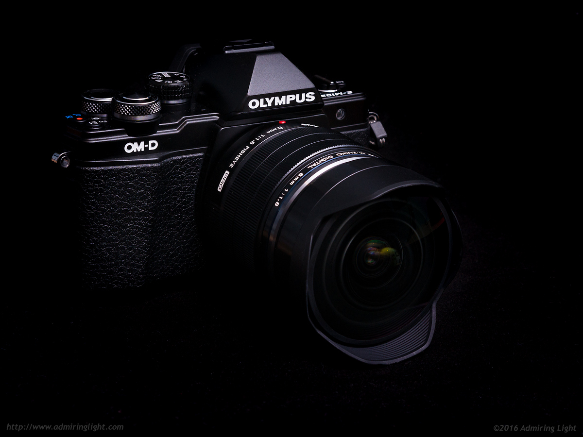 The Olympus 8mm f/1.8 PRO Fisheye on the OM-D E-M10 Mark II