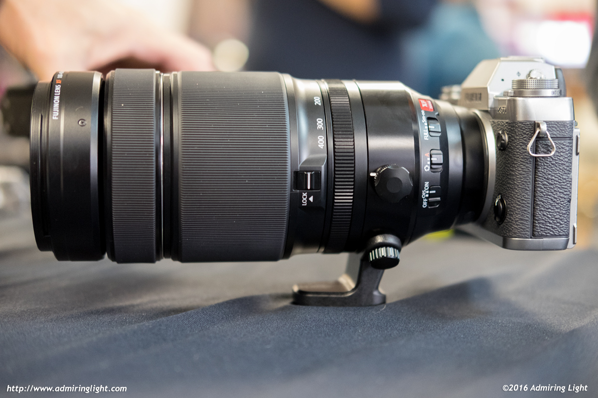 The XF 100-400mm f/4.5-5.6