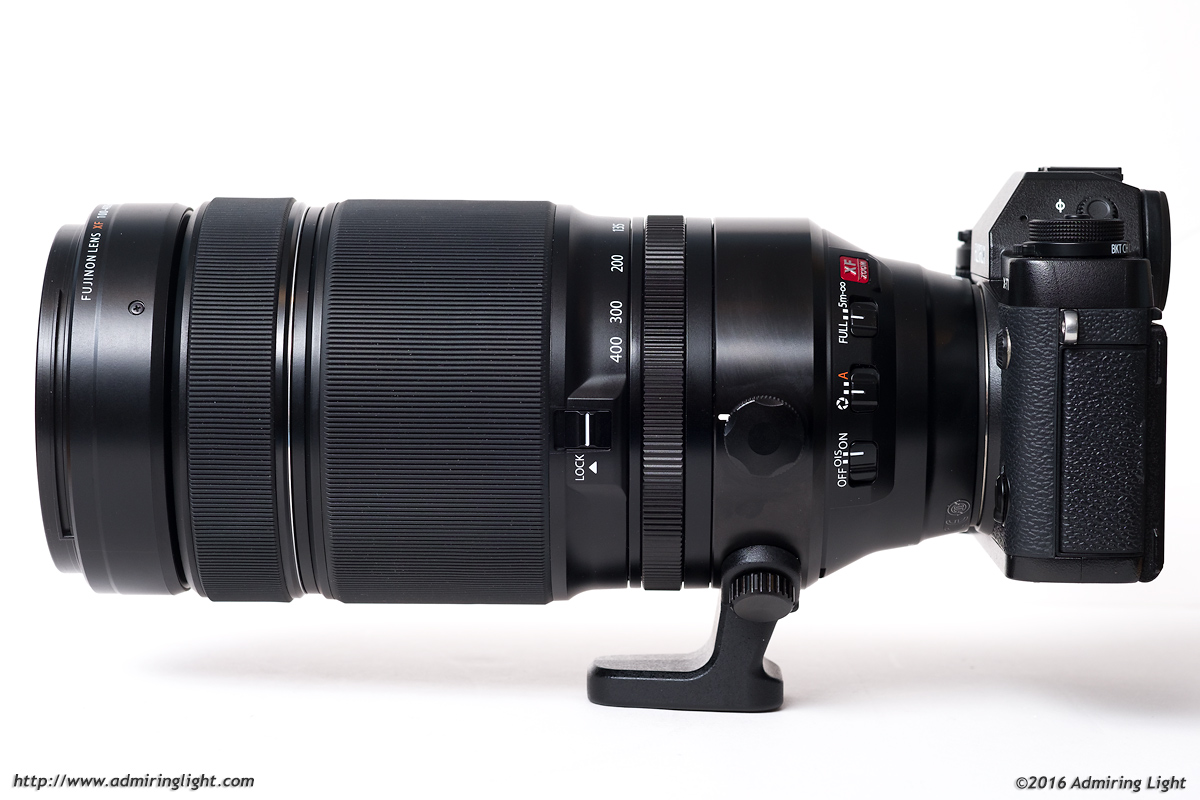 The XF 100-400mm f/4.5-5.6 at 100mm.