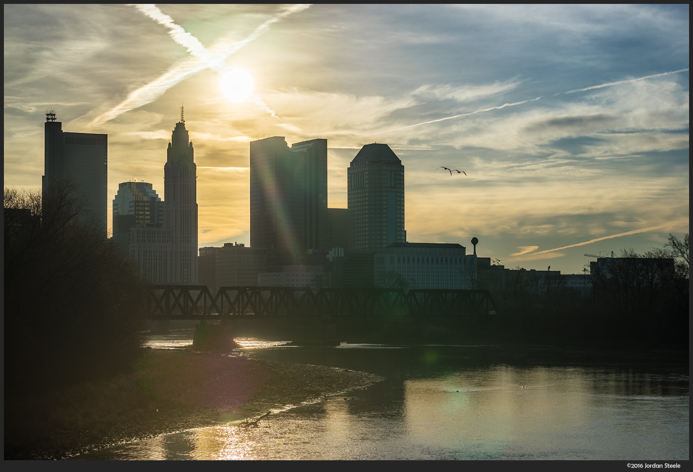 Columbus Sunrise - Sony A7 II with Sony FE 70-200mm f/4 G OSS @