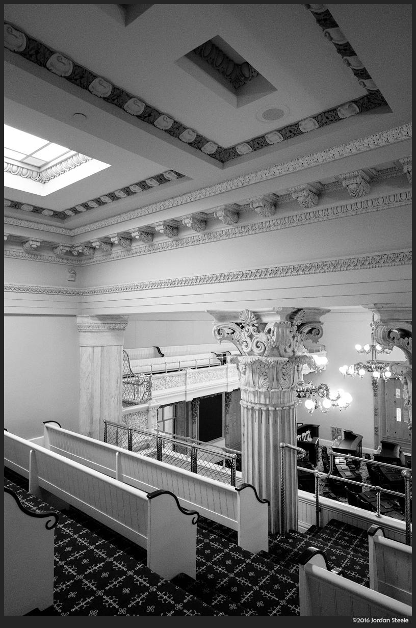 Statehouse Balcony - Fujifilm X-Pro 2 with Fujinon XF 14mm f/2.8 @